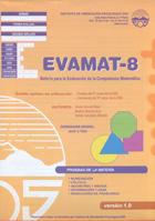 EVAMAT - 8. Evaluación de la Competencia Matemática. (1 cuadernillo y corrección)
