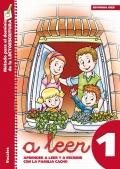 A leer 1. Aprender a leer y a escribir con la familia Cacho. Vocales