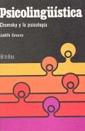 Psicolingüística. Chomsky y la psicología.