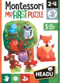 Montessori My First Puzzle El bosque