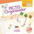 Picto Organizador. Contiene más de 1400 pictogramas en pegatina