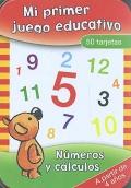 Mi primer juego educativo. Caja 50 tarjetas. Números y cálculos