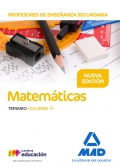 Matemáticas. Temario. Volumen 4. Cuerpo de Profesores de Enseñanza Secundaria.