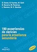190 experiencias de ciencias para la enseñanza secundaria.