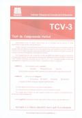 Cuadernillos del TCV 3 (paquete de 10)