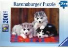 Puzle cachorros de husky 200 piezas XXL