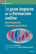 El gran impacto de la formación online. Investigación y buenas prácticas