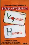 Baraja ortográfica. Serie 3.