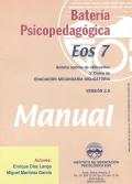 Manual de la batería psicopedagógica EOS-7.