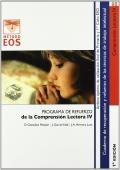 Comprensión lectora IV. Programa de refuerzo de la comprensión lectora IV.