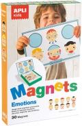 Magnets emociones. 30 piezas. Juego para expresar emociones