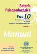 Manual de la batería psicopedagógica EOS-10.
