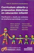 Currículum abierto y propuestas didácticas en educación infantil. Planificación y diseño de contextos de enseñanza-aprendizaje (3 a 5 años).