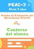 Paquete 10 cuadernillos PEAI 3-6 años (Prueba de evaluación del aprendizaje infantil)