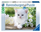 Puzle gatito blanco 1500 piezas