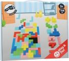 Tetris puzzle de madera