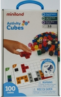 Activity math cubes (100 piezas)