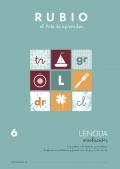 Lengua Evolución 6. Iniciación a la lectura y escritura. Sinfones en plabras y frases con: cl,gr,pr,br,dr,tr