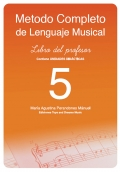Método completo de lenguaje musical. Libro del profesor 5.