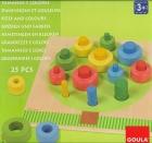 Tamaños y colores (25 piezas)