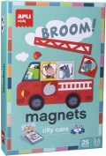 Magnets. City Cars