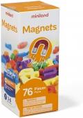 Caja de letras magnéticas minúsculas (76 piezas)