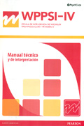 Manual Técnico y de Interpretación de WPPSI-IV,