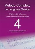Método completo de lenguaje musical. Libro del alumno 4. (Con 2 CD)