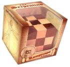 Serpentino Snake cube. Rompecabezas de la mente de Leonardo