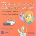 10 cuentos y canciones para compartir...valores. ( Incluye CD )