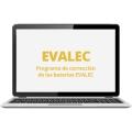 Aplicación y corrección online de EVALEC (nivel 3 al 8)