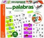 Formar palabras. ¿Qué letras forman la palabra .... vaca?
