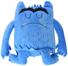 Peluche el monstruo de colores. Azul. Tristeza