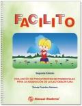 FACILITO. Evaluación de precurrentes instrumentales para la adquisición de la lectoescritura