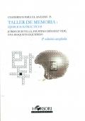 Taller de memoria: ejercicios prácticos. Cuadernos para el análisis 33.