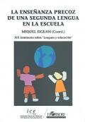 La enseñanza precoz de una segunda lengua en la escuela. XIX seminario sobre lenguas y educación.