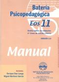 Manual de la batería psicopedagógica EOS-11.
