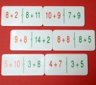 Domino matemático de sumas equivalentes
