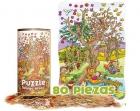 Puzzle Amigo árbol (80 piezas)
