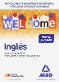 Inglés. Análisis de textos: preguntas, textos y soluciones. Cuerpo de Profesores de Enseñanza Secundaria.