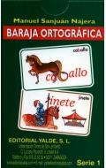 Baraja ortográfica. Serie 1.