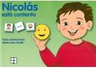 Nicolás está contento. Colección Pictogramas 24.