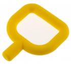 Mordedor mini chewy suave. Amarillo.