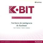 Cuaderno de examen del K-BIT, Test breve de inteligencia de Kaufman