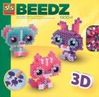 Cuentas para planchar (Beedz). Tus amigos los animales en 3D