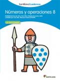 Números y operaciones 8. Santillana Cuadernos. 4º Primaria