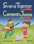 Singing together in English and Spanish. Cantando juntos en Inglés y Español