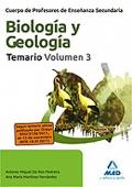Biología y Geología. Temario. Volumen III. Biología II y Física y Química. Cuerpo de Profesores de Enseñanza Secundaria.