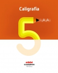 Caligrafía 5. Cuadernos primaria