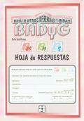 Paquete de 25 hojas de Respuesta de BADYG E3-M-S